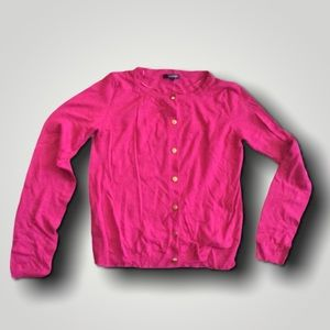 Pink Button Up Blouse/Cardigan
